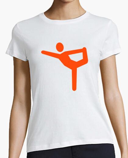 Camiseta gimnasia yoga símbolo