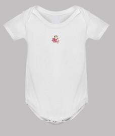 GINNA-Body bebé, blanco