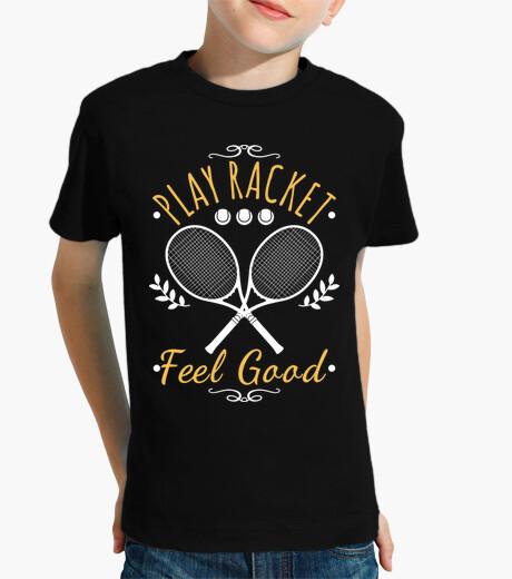 Abbigliamento bambino giocare a racchetta feel good