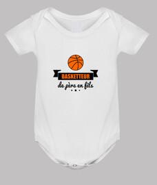 giocatore di pallacanestro da padre in