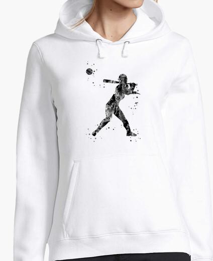 Felpe giocatore di softball ragazza