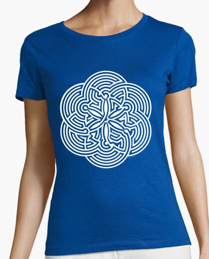 T-shirt giochi - maze - brain gioco