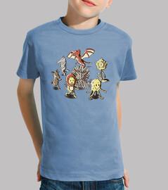 gioco sedie- t-shirt bambino