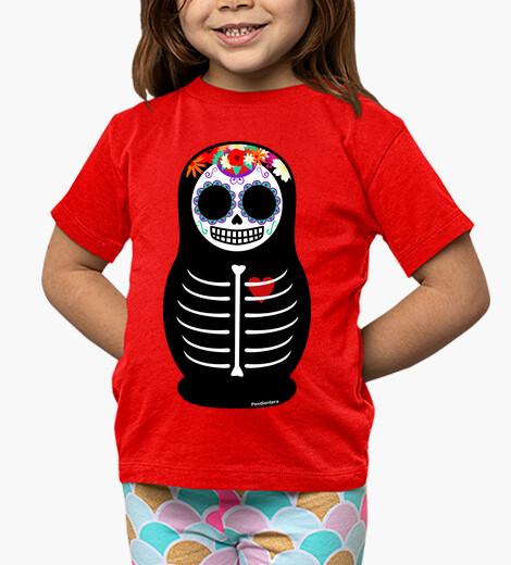 Abbigliamento bambino giorno matryoshka della los morte