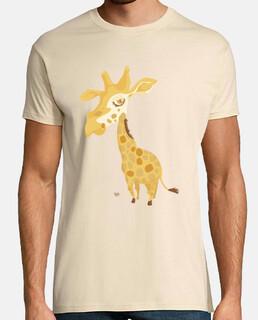 Girafe grosse tête