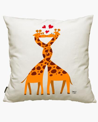 Funda cojín Girafes