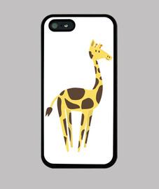 giraffe coque iphone