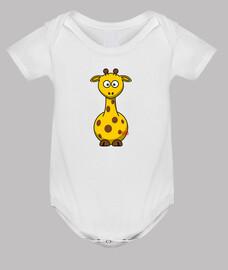 giraffe paffuto bianca