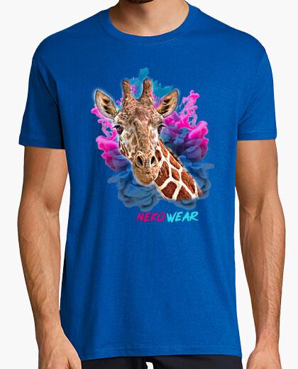 Camiseta Giraffe Paint