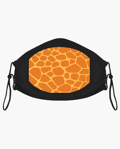 Mascarilla Giraffe Pattern Face Mask