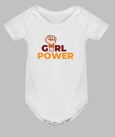 Girl Power puño levantado
