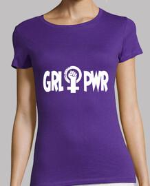 Girl power total white