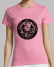 girl t-shirt in Odin we trust