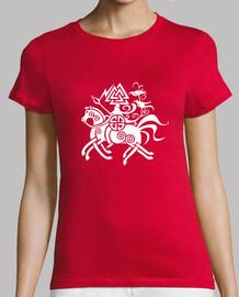 girl t-shirt Odin & Sleipnir