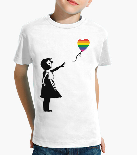 Ropa infantil Girl with balloon LGTB