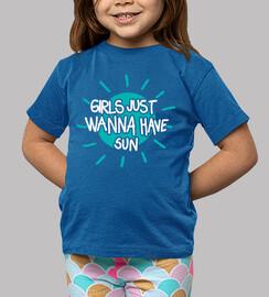 Girls just wanna have sun (blue-dark)