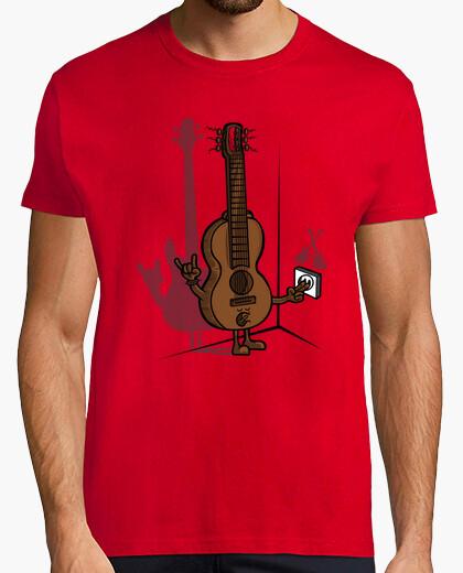 T-Shirt gitarre eléctrica 2