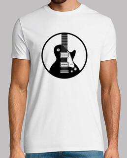 Gitarre weißes Profil