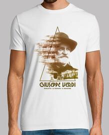 Giuseppe Verdi, Hombre, manga corta, blanco, calidad extra