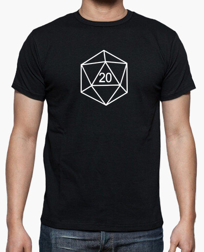 Given 20 - role-playing games - white t-shirt
