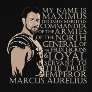 Camisetas Gladiator Maximus
