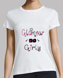 glamorous and girly