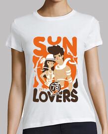 gli amanti del sole (ragazza)