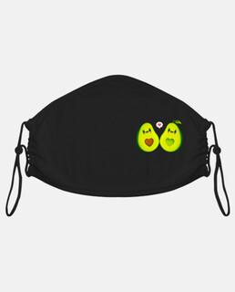 gli avocado amoree kawaii per logo