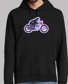 glitch biker