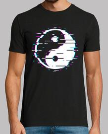 glitch yin yang
