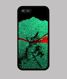 glitter cat - cover iphone 4/5