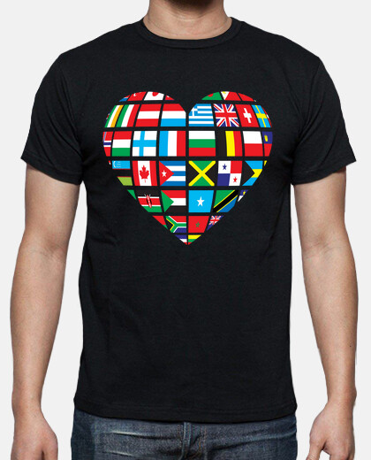 Camisetas Global Heart