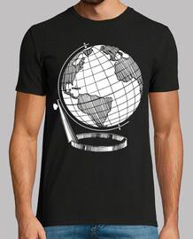 globe monde carte monde blanc