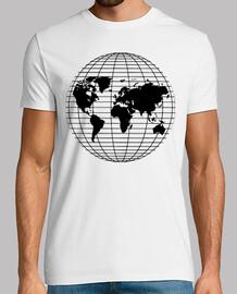 Globo Paralelos Terraqueo Mapa Mundi Ne