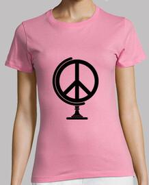 Globo terraqueo de la Paz