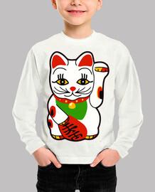 glückliche Katze - Fort eine Katze