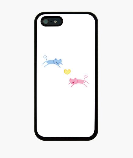 IPhone Hülle glückliche katzen