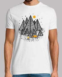 glücklicher Camper (für Licht)