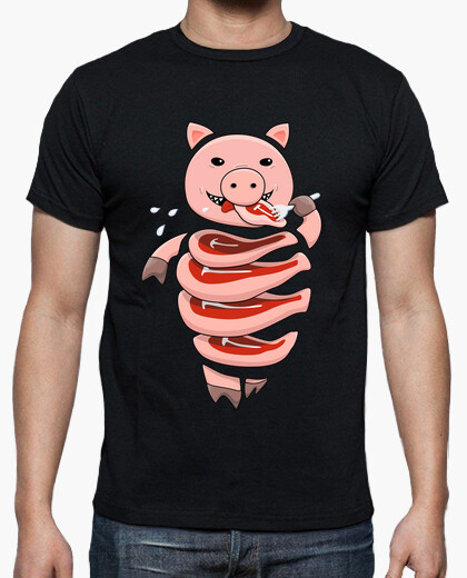 Gluttonous Cannibal Pig t-shirt