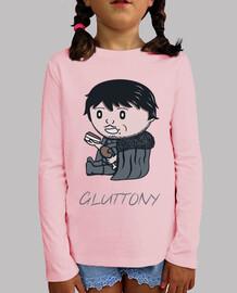 Gluttony- Camiseta niño