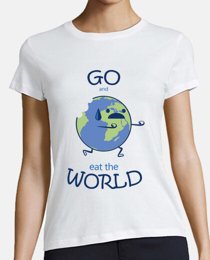 Go and eat the World! per donna