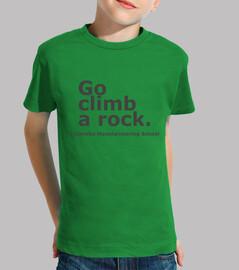 Go climb a rock. Yosemite homenaje