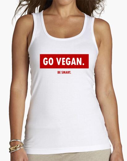 Camiseta GO VEGAN be smart