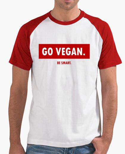Camiseta GO VEGAN be smart 2
