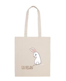 Go Vegan Bunny