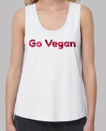Go vegan frambuesas