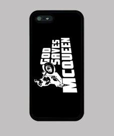 God saves McQueen