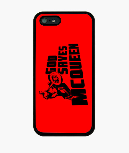 God saves mcqueen iphone cases