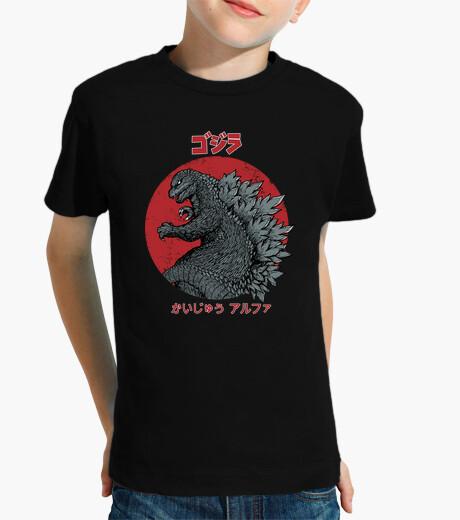 Abbigliamento bambino gojira kaiju alpha