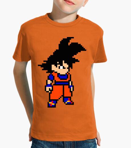 Ropa infantil Goku 8bit (Camiseta Niño)